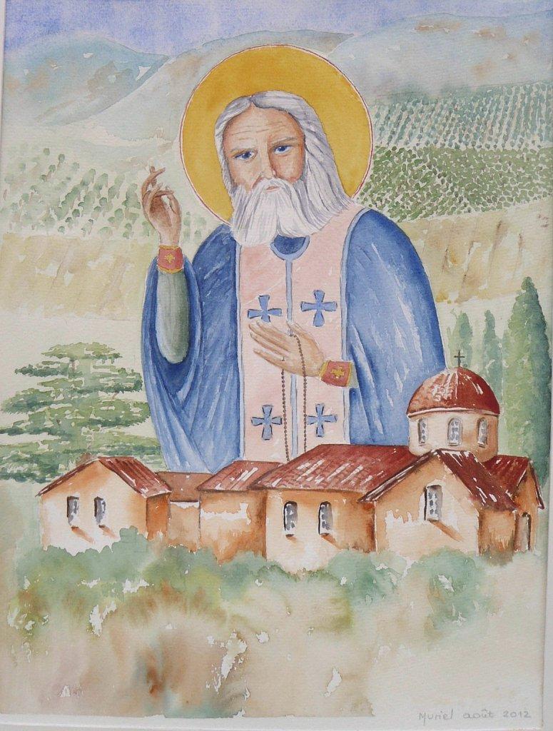 St-Seraphim-Sarov-skite-Liban