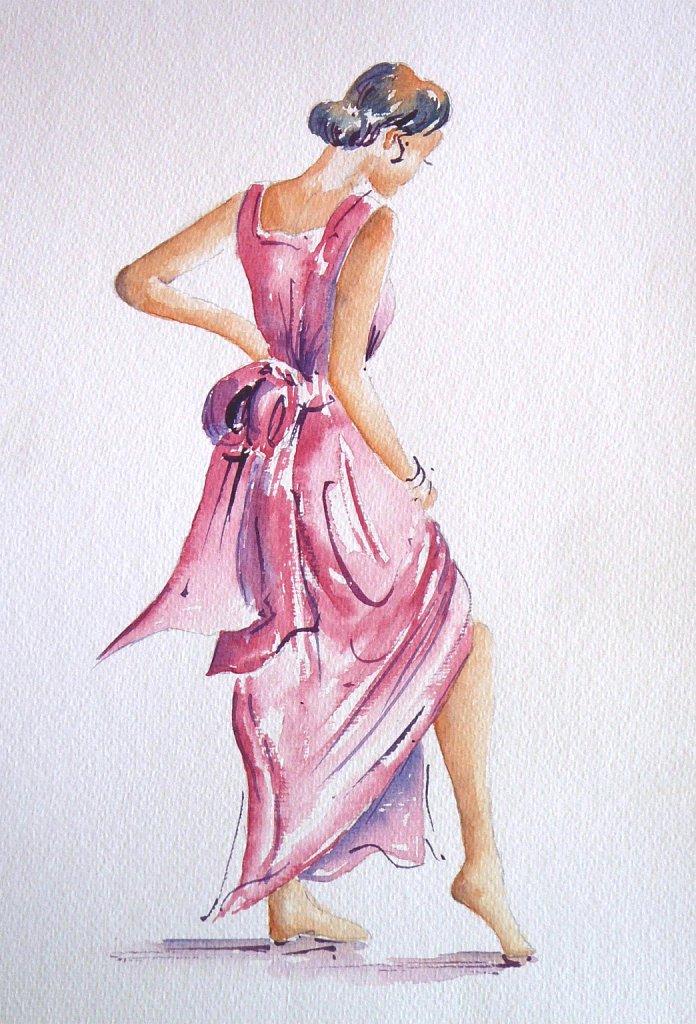 Danseuse-rose-et-mauve