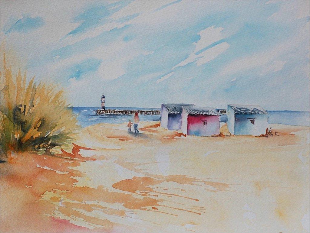 Nieuport cabines de plage