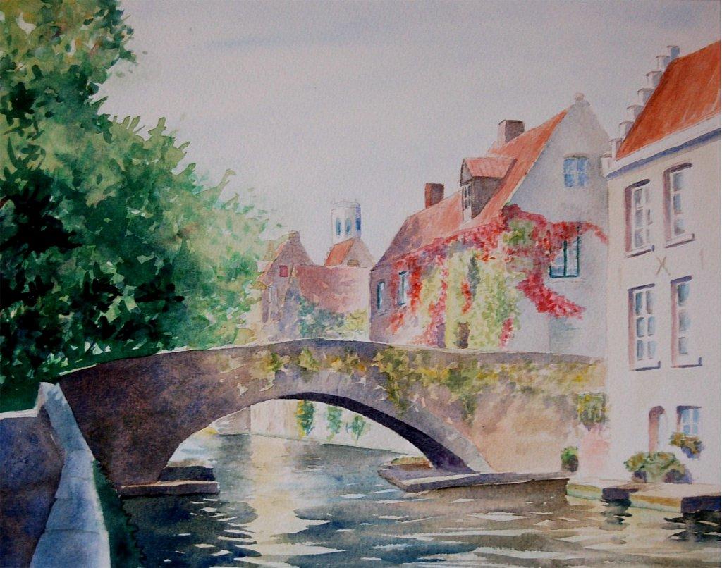 Canal à Bruges