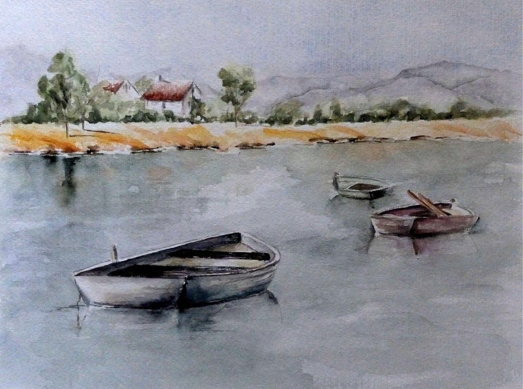 Trio de barques