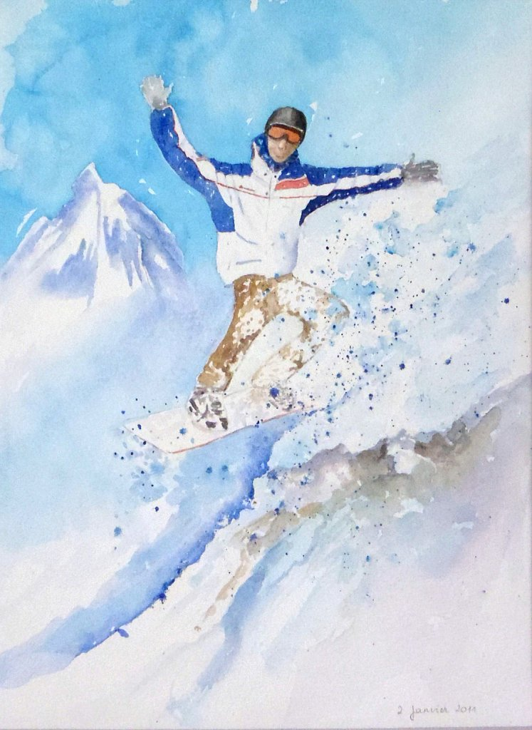 Guillaume snowboarder